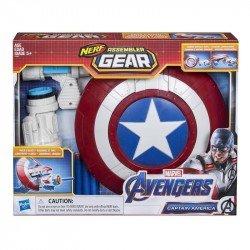 Marvel E3347 Avengers: Endgame - Nerf Captain America Assembler Gear