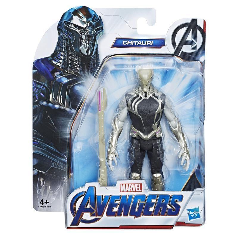 Marvel E3935 Marvel Avengers Endgame Figuras de 6 Pulgadas de película Chitauri