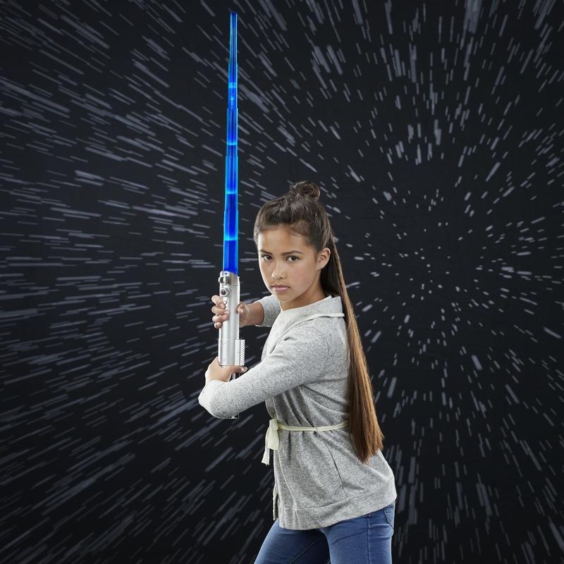 Sable de luz autoextensible Jedi Star Wars