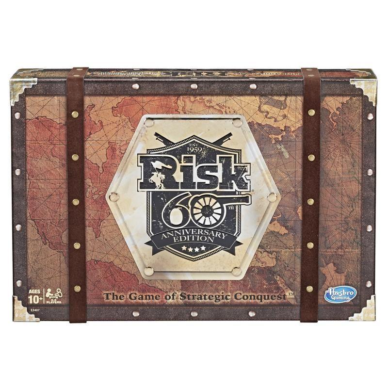 Hasbro Gaming E3407  Risk Edición de 60 años Juguete Hasbro