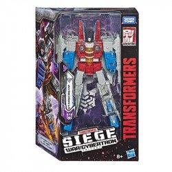 Transformers E3544 Figura Starscream  Generations War for Cybertron Voyager  Juguete Hasbro