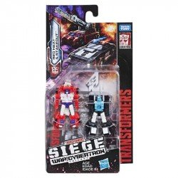Transformers Generations War for Cybertron Micromaster E3562 2 Pack Red Head y Stakeout   Juguete Hasbro