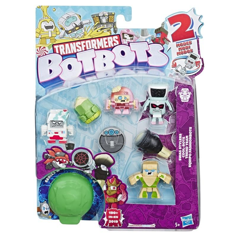 Transformers E3494 8 Pack Figuras BotBots Transformers Juguete Hasbro