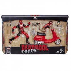 Marvel E4702  Legends 6 Pulgadas Deadpool con Patineta