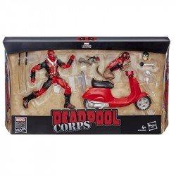 Marvel E4702  Legends 6 Pulgadas Deadpool con Patineta