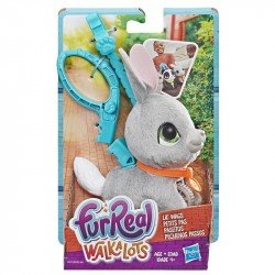 FurReal Friends E4772 Conejo Paseitos  Walkalots