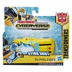 Transformers E3642 Figura Bumblebee  Cyberverse Fusion Megashot   Juguete Hasbro