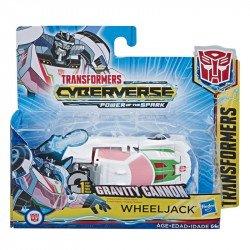 Transformers E3646 Figura Wheeljack  Cyberverse Fusion Megashot   Juguete Hasbro