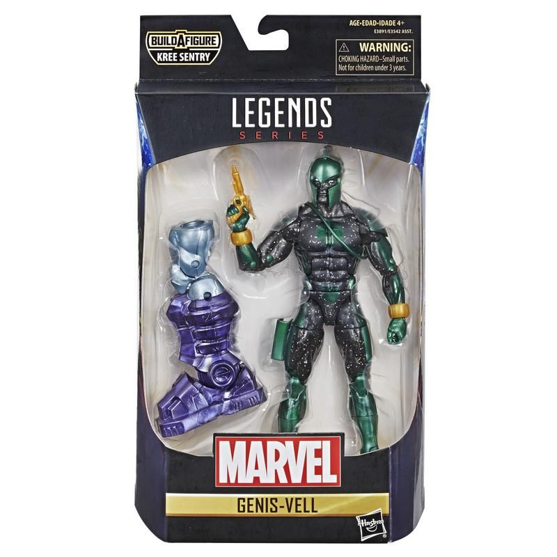 Marvel Legends E3542 Figura 6 Pulgadas Capitana Marvel  Juguete Hasbro