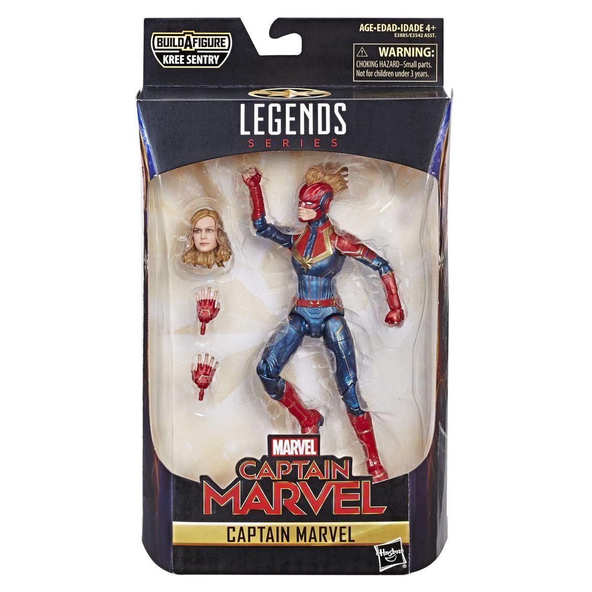 Marvel E3891 Figura Genis-Vell 6 Pulgadas Capitana Marvel  Juguete Hasbro