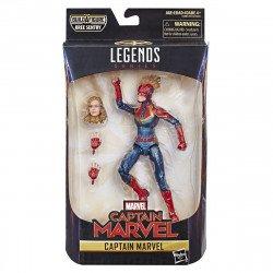 Marvel E3885 Figura Capitana Marvel 6 Pulgadas Capitana Marvel
