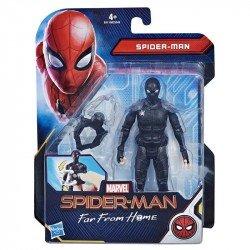 MARVEL E4119  Spider-Man: Lejos de casa - Figura de acción de 15 cm ? Spider-Man Traje de Sigilo Juguete Hasbro