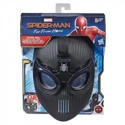 MARVEL  E3563  Spider-Man: Far From Home - Máscara del traje de sigilo del Hombre Araña Juguete Hasbro