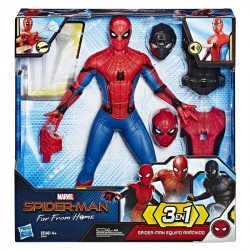 MARVEL E3567 Spider-Man: Far From Home - Figura de acción de lujo Spider-Man Equipo Arácnido Juguete Hasbro