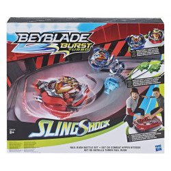 BEYBLADE E3629 Juego de Batalla Rail Rush Beyblade Burst Turbo Slingshock  Juguete Hasbro