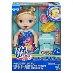 Baby Alive E3694 Bebé Comiditas con Formas , Rubia Juguete Hasbro