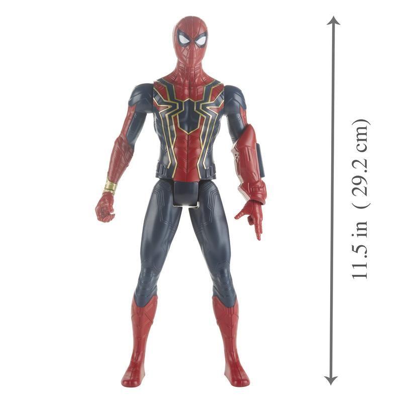 Marvel E3844  Avengers Titan Hero Iron Spider Juguete Hasbro