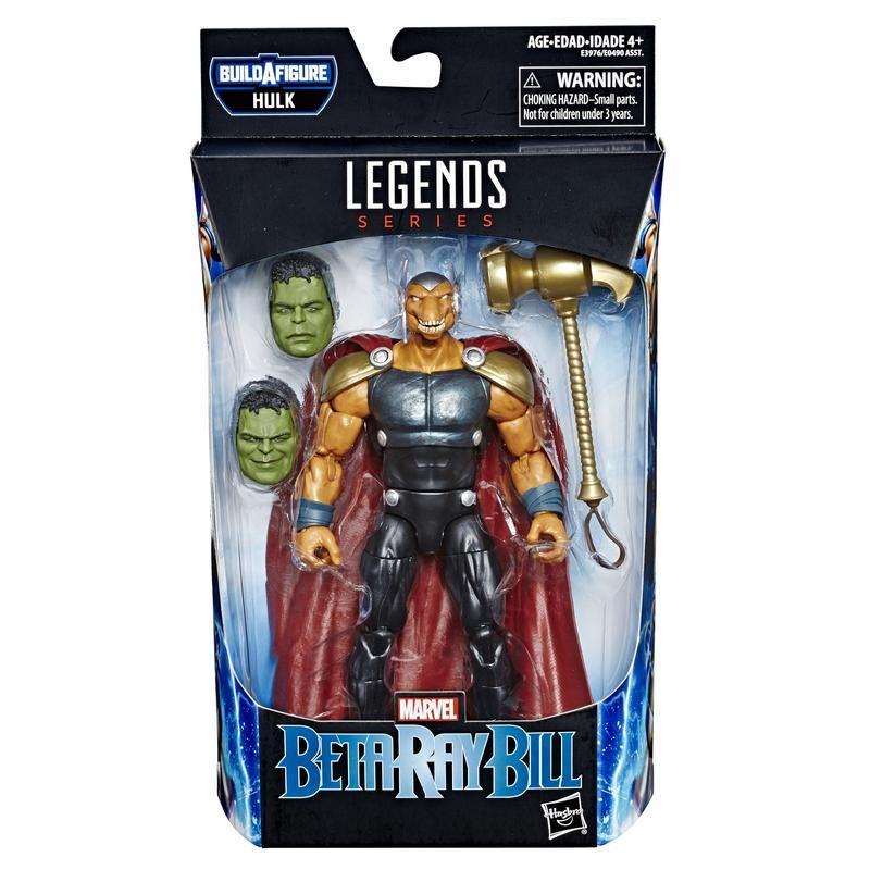 Marvel  E3976 Marvel Legends Avengers Endgame Figuras de 6 Pulgadas Beta Ray Bull Juguete Hasbro