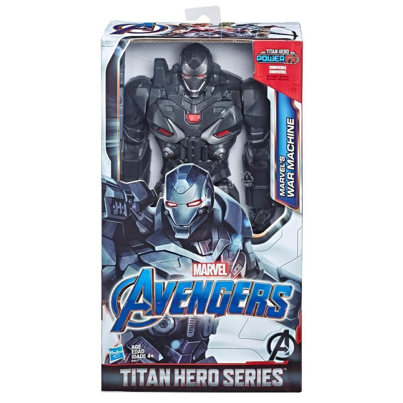 Marvel E4017 Figura de Acción Marvel Avengers: Endgame Titan Hero Marvel's War Machine Juguete Hasbro