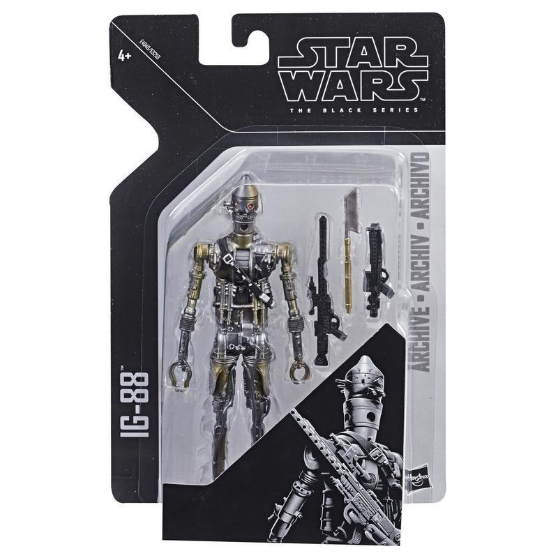 Star Wars E4040 Figura IG-88 6 Pulgadas Archive