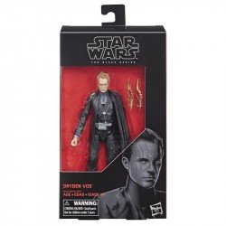 STAR WARS E4070  The Black Series - Figura de Dryden Vos de 15 cm Juguete Hasbro
