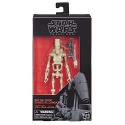 STAR WARS E4085  The Black Series - Figura de Battle Droid de 15 cm Juguete Hasbro