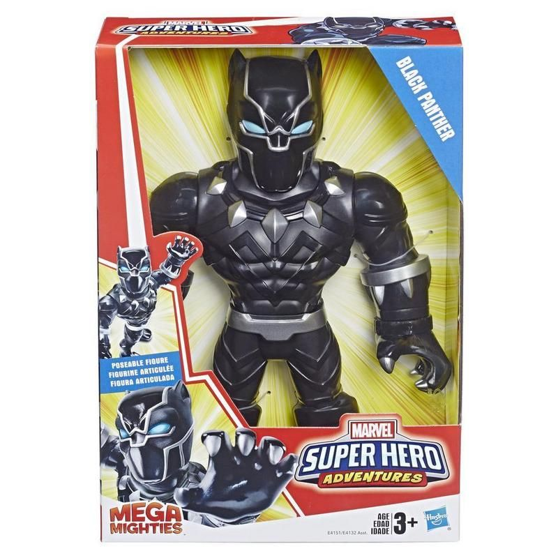 MARVEL E4151 Playskool Marvel Mega Mighties Black Panther Juguete Hasbro