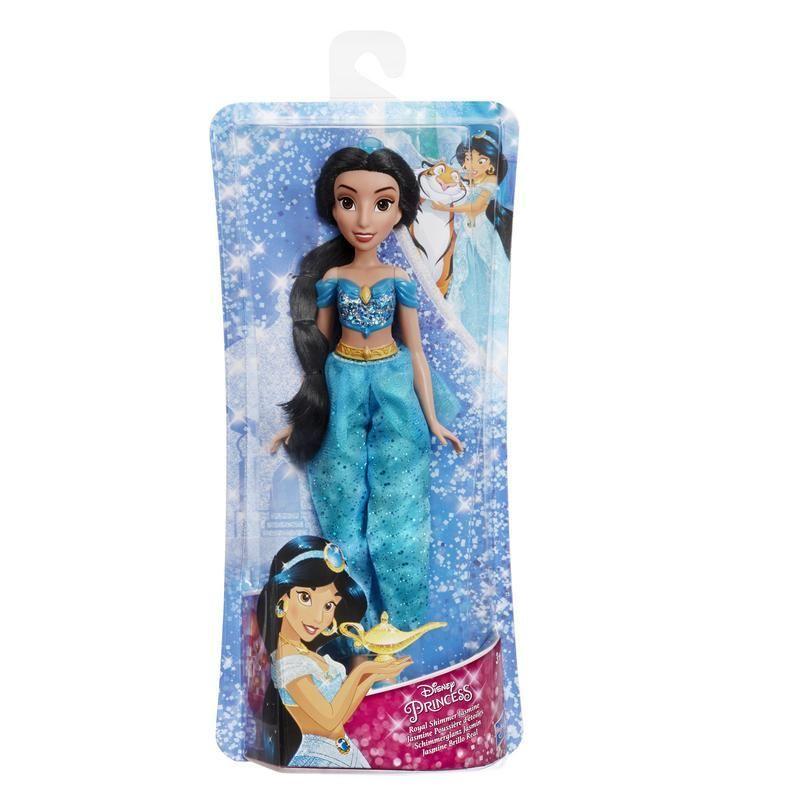 Disney Princesas E4163 Muñeca Jasmín Royal Shimmer  Juguete Hasbro