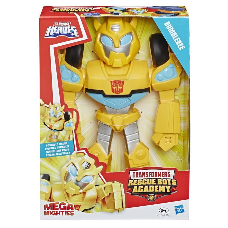 Playskool E4173 Figura Bumblebee Mega Mighties Transformers  Juguete Hasbro
