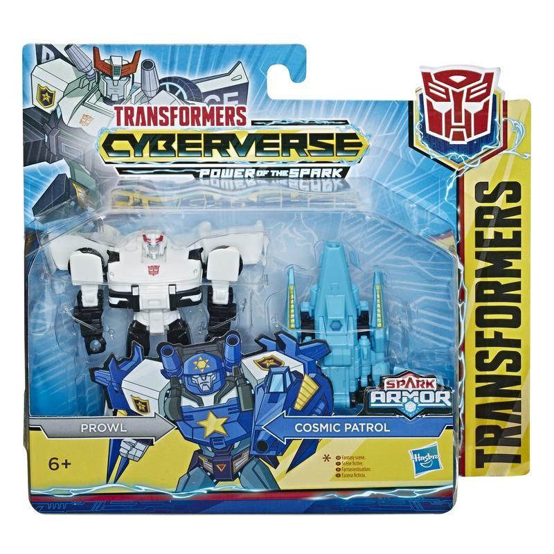 Transformers E4298Cyberverse Spark Armor - Figura de acción de 10 cm Starscream Juguete Hasbro