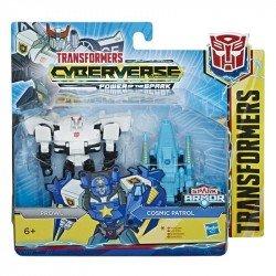 Transformers E4295 Cyberverse Spark Armor - Figura de acción de 10 cm Prowl Juguete Hasbro