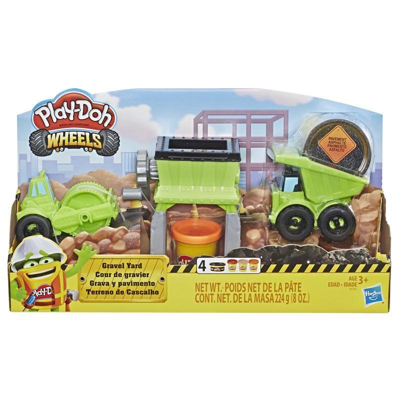 Play-Doh E4293 Juguete de construcción  Grava y Pavimento  Wheels Juguete Hasbro