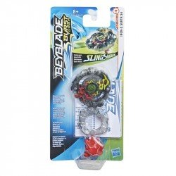 Beyblade E4719 Beyblade Burst Turbo Slingshock Top Individual Iron y Surtr S4 Juguete Hasbro