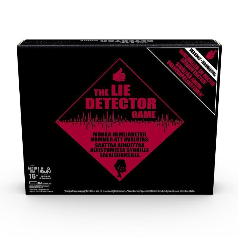 HASBRO GAMING E4641 Detector de Mentiras - Juego para adultos Juguete Hasbro