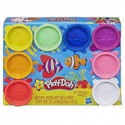 Play-Doh E5062 Play-Doh Arcoíris - Empaque de 8 latas de masa modeladora no tóxica con 8 colores  Juguete Hasbro