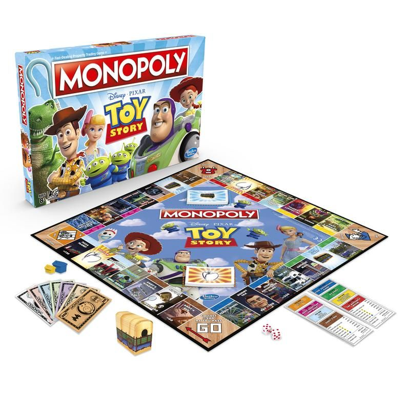 Hasbro Gaming E5065 Juego De Mesa Monopoly Toy Story Juego De Mesa