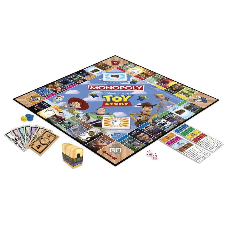Hasbro Gaming E5065 Juego de Mesa Monopoly Toy Story - Juego de mesa para toda la familia  Juguete Hasbro