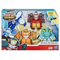 Transformers E5099 Playskool Heroes Transformers Rescue Bots Academy Equipo de rescate de la academia