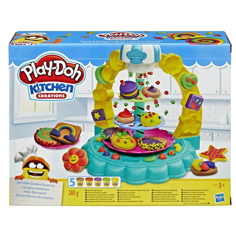 Play-Doh E5109 Galletas Divertidas  Kitchen Juguete Hasbro