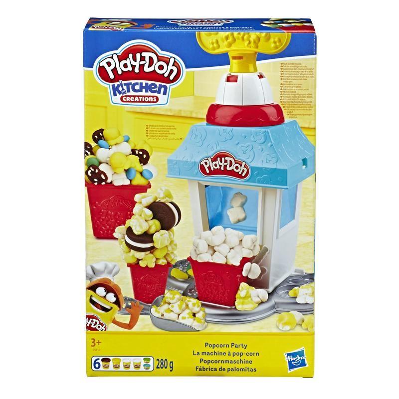 PLAY DOH E5110 Play-Doh Kitchen Creations - Fiesta de palomitas Juguete Hasbro