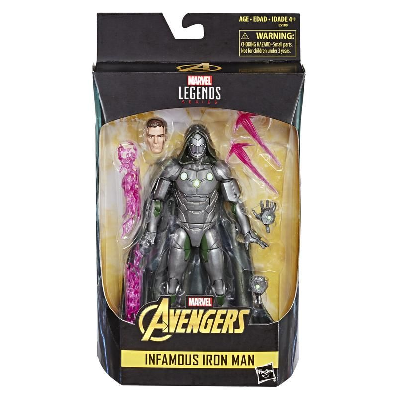 Marvel E5180 Marvel Legends Series Marvel Comics Infamous Iron Man Figura de 15 cm  Juguete Hasbro