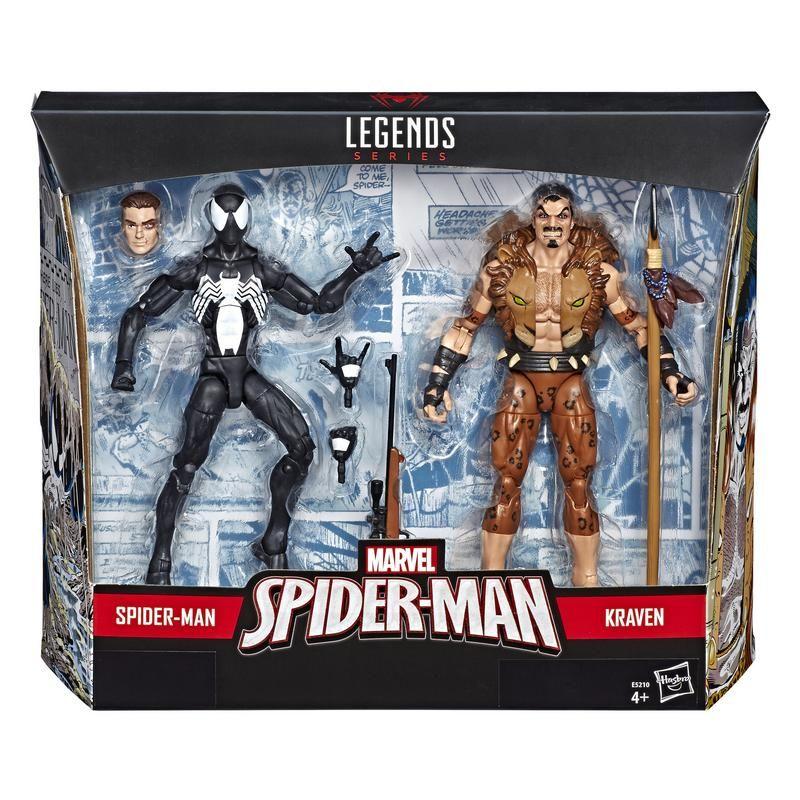 Marvel E5210 2 Pack Figuras Spider-Man y Kraven 6 Pulgadas Marvel  Juguete Hasbro