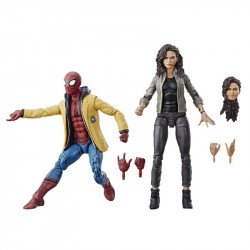 Marvel  E5271 Marvel Legends Spiderman Home-Coming 2 Pack: Spiderman & Mary Jane Juguete Hasbro
