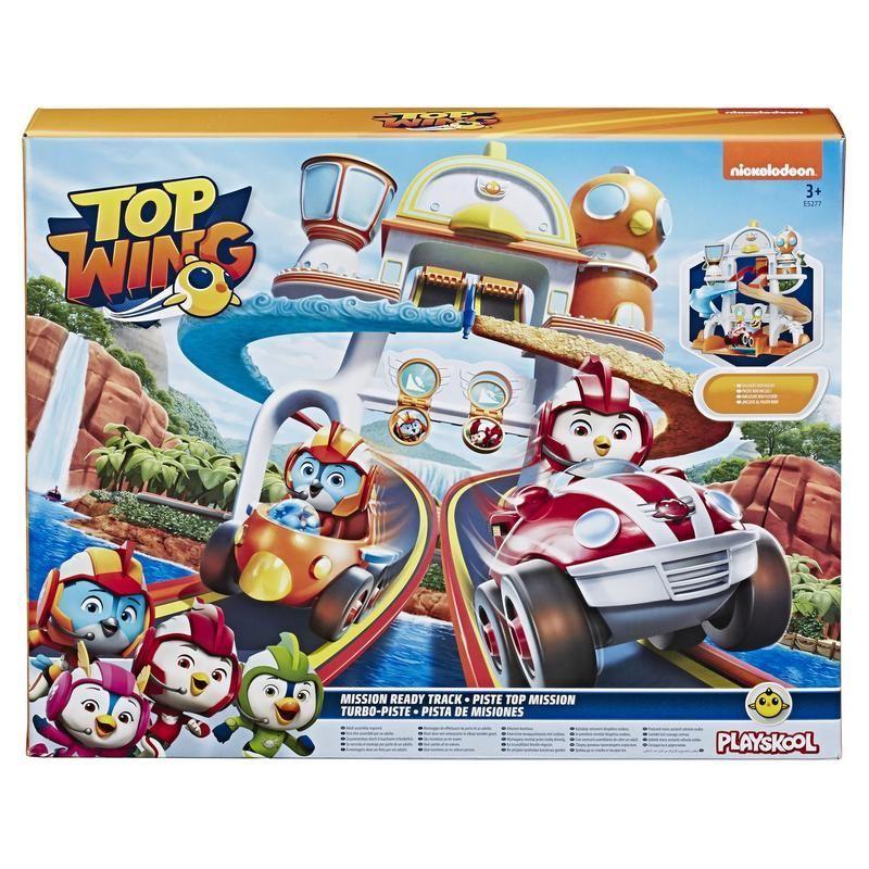 Top Wing E5277 Pista Misión Top  Juguete Hasbro