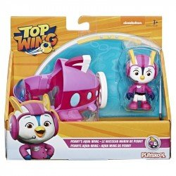Top Wing E5315 Figura Penny y Vehículo Top Wing Juguete Hasbro