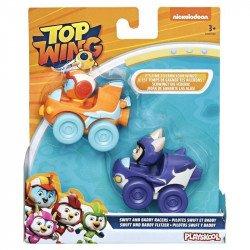 Top Wing E5350 2 Pack Figuras Swift y Baddy con Vehículos  Juguete Hasbro