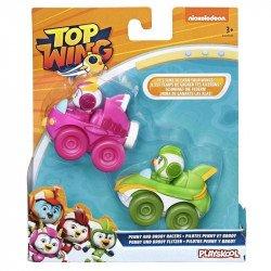 Top Wing E5352 2 Pack Figuras Brody y Penny con Vehículos  Juguete Hasbro