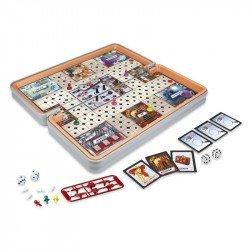 Hasbro Gaming E5341 Clue - Juego de Viaje Juguete Hasbro