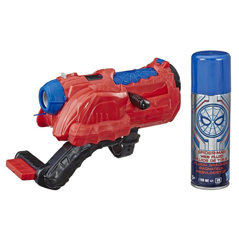 MARVEL E5364 Marvel Spiderman Lanzador Web Cyclone Juguete Hasbro