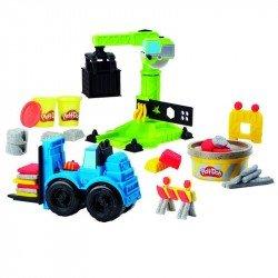 Play-Doh E5400 Grúa y Montacargas  Wheels  Juguete Hasbro